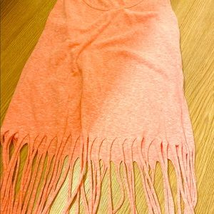 Rue21 Tops - Pink fringed crop top